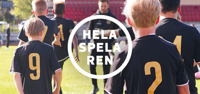 Hela Spelaren – ett Arvsfondsprojekt som drivs av Skellefteå FF