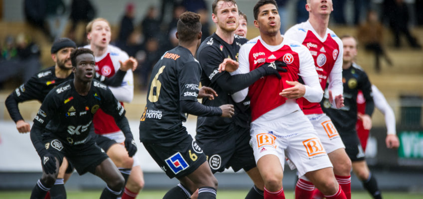 Bildspel: Se bilderna från helgens match mot Sandvikens IF