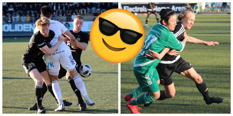 Bara att ta med solbrillorna –supersöndag på solläktaren