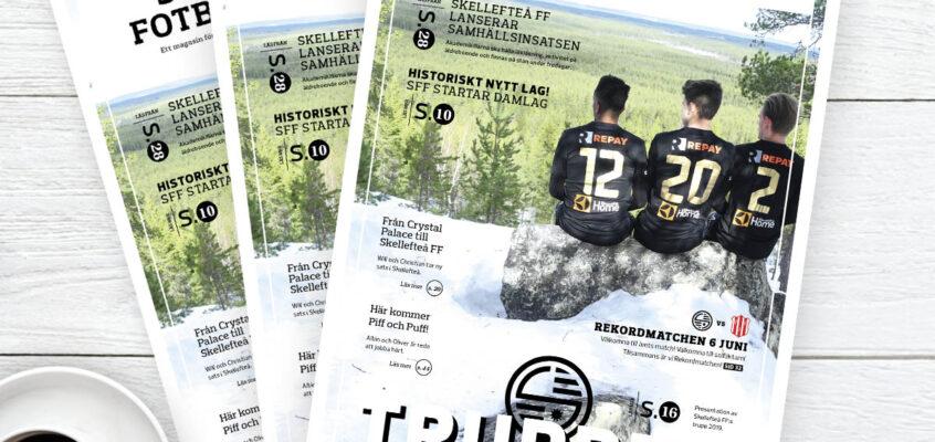 Skellefteå FF – Fotbollsmagasin 2019 nr1